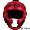 Боксерский шлем VENUM Absolute 2.0 Red Devil Nappa Leather