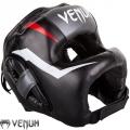 Боксерский бесконтактный шлем VENUM Elite Iron Black
