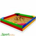 Детская цветная песочница SportBaby Песочница-1