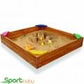 Детская деревянная песочница SportBaby Песочница-9