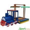 Детская песочница-паровоз SportBaby Песочница-18