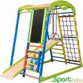 Спортивный детский комплекс для дома SportBaby SportWood Plus