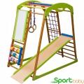 Спортивный детский комплекс для дома SportBaby BabyWood Plus