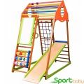 Спортивный детский комплекс для дома SportBaby KindWood Plus