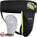 Бандаж и ракушка для защиты паха RDX Groin Guard Black