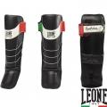 Защита голени и стопы LEONE Revolution Black