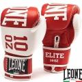 Боксерские перчатки LEONE Elite Red