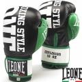 Боксерские перчатки LEONE Explosion Black