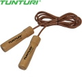 Скакалка TUNTURI Leather Skipping Rope Pro