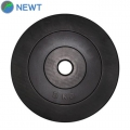 Диск олимпийский композитный в пластиковой оболочке NEWT Rock