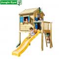 Детский игровой комплекс JUNGLE GYM Playhouse + Frame L