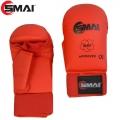 Перчатки для карате c защитой пальца SMAI WKF
