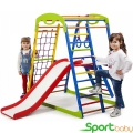 Спортивный детский комплекс для дома SportBaby SportWood Plus2