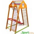 Спортивный детский комплекс для дома SportBaby BambinoWood Plus1