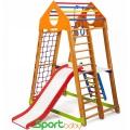 Спортивный детский комплекс для дома SportBaby BambinoWood Plus2
