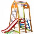 Спортивный детский комплекс для дома SportBaby BambinoWood Plus3
