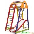 Спортивный комплекс для дома SportBaby BambinoWoodColor Plus1
