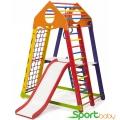 Спортивный комплекс для дома SportBaby BambinoWoodColor Plus2