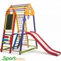 Спортивный комплекс для дома SportBaby BambinoWoodColor Plus3