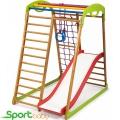 Спортивный детский комплекс для дома SportBaby BabyWood Plus1