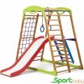 Спортивный детский комплекс для дома SportBaby BabyWood Plus2
