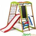 Спортивный детский комплекс для дома SportBaby BabyWood Plus3