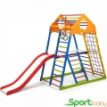 Спортивный комплекс для дома SportBaby KindWoodColor Plus2