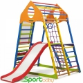 Спортивный комплекс для дома SportBaby KindWoodColor Plus3