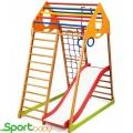 Спортивный детский комплекс для дома SportBaby KindWood Plus1