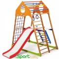 Спортивный детский комплекс для дома SportBaby KindWood Plus2