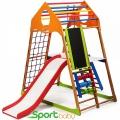 Спортивный детский комплекс для дома SportBaby KindWood Plus3