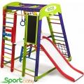 Спортивный детский уголок SportBaby Акварелька Plus3