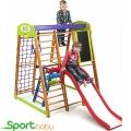 Спортивный детский уголок SportBaby Карапуз Plus3