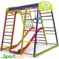 Спортивный детский уголок SportBaby Юнга Plus1