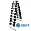 Гантельный ряд со стойкой NEWT Profi 1-10 кг