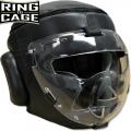 Боксерский шлем со защитной крышкой RING TO CAGE RTC-5030