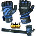 Кожаные перчатки для фитнеса GRIP POWER PADS GPP-100Y