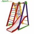 Спортивный детский комплекс для дома SportBaby Kind-Start-4