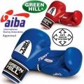 Боксерские боевые перчатки GREEN HILL TIGER AIBA
