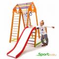 Спортивный комплекс для дома SportBaby BambinoWoodColor Plus1-1