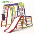 Спортивный детский уголок SportBaby Акварелька Plus1-1