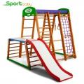 Спортивный детский уголок SportBaby Карапуз Plus1-1