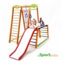 Спортивный детский уголок SportBaby Кроха 2 Plus 1-1
