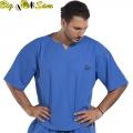 Мужская тренировочная топ-футболка BIG SAM 3141