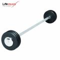 Штанга прямая прорезиненная LifeMaxx LMX77 120 см