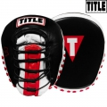 Боксерские лапы TITLE LUGPM