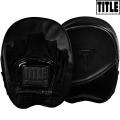 Боксерские лапы TITLE BLACK BKBPM