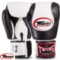 Перчатки боксерские кожаные на липучке TWINS BGVL9