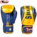 Перчатки боксерские кожаные на липучке TWINS FBGV-TW4