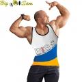 Майка для фитнеса BIG SAM 2285